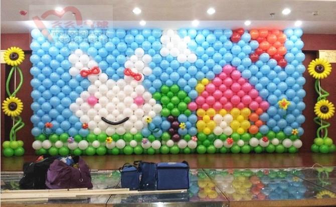 青岛逗儿乐彩球_的氦气气球供应商|平度六一气球