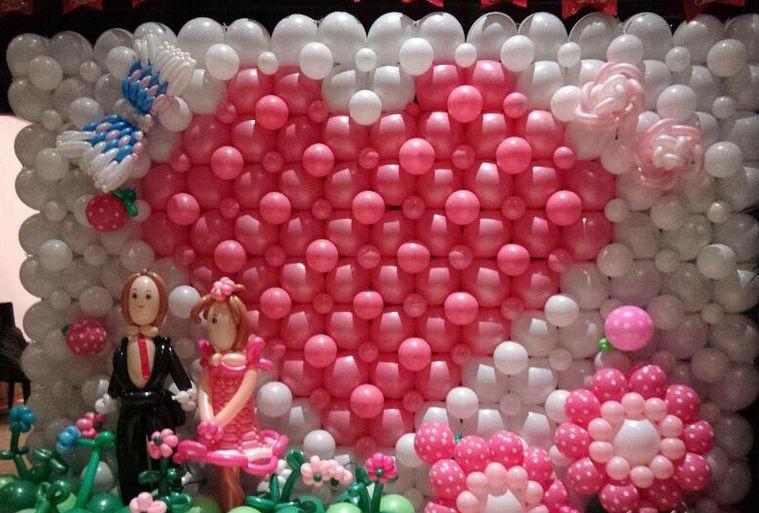莱西七夕情人节气球,青岛专业的七夕主题布置策划
