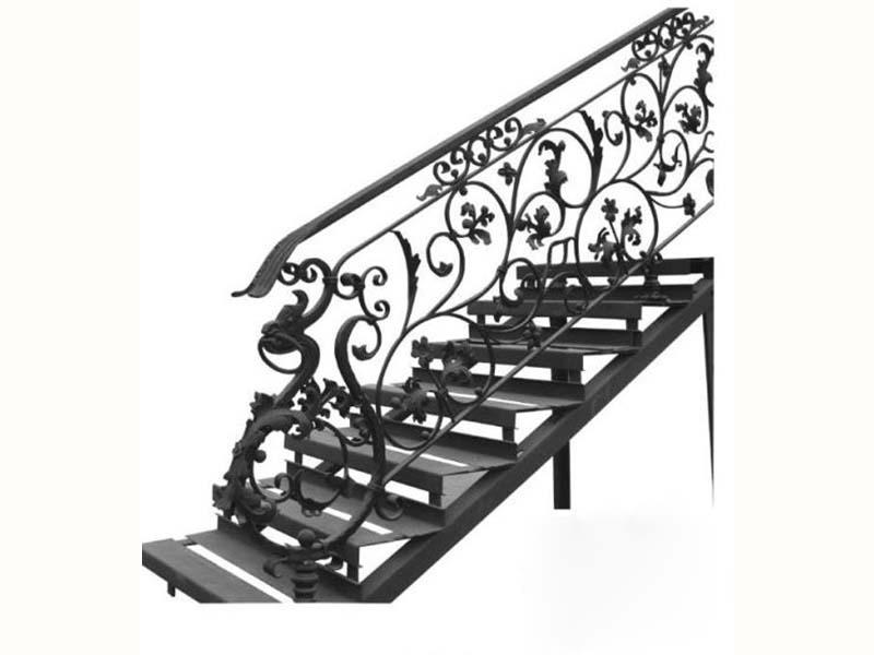 甘肃楼梯-兰州博艺鑫金属装饰供应实惠的铁艺楼梯