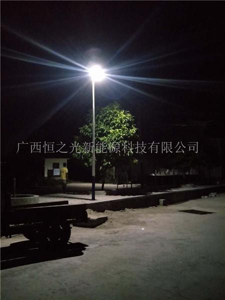 广西新农村led太阳能路灯厂家-