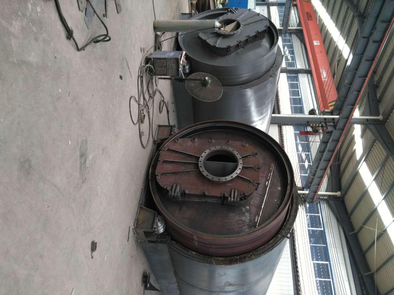 耐用的轮胎小型炼油环保炼油供销,小型废轮胎炼油