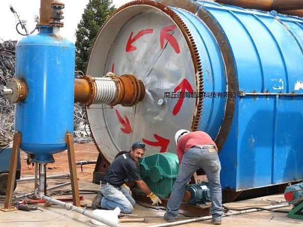 优质的废塑料环保炼油设备在哪买,南通废轮胎炼油