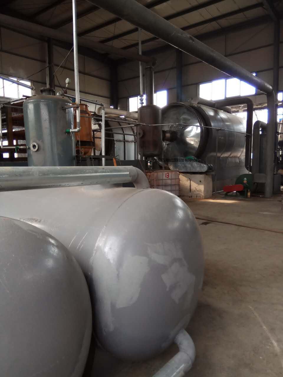 受欢迎的油泥处理设备推荐|废旧塑料炼油设备