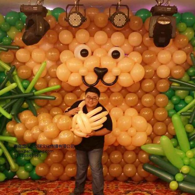 青岛的青岛生日气球厂家推荐 哪里有气球放飞公司推荐