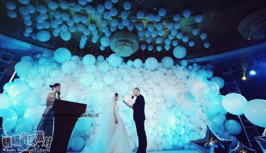 城阳气球工作室|青岛逗儿乐彩球为客户提供具有品牌的青岛气球装饰