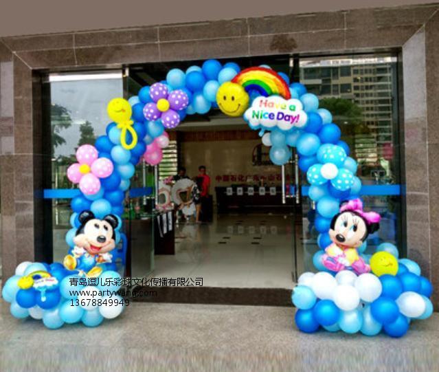 青岛气球布置服务推荐_崂山圣诞节