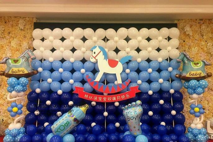 青岛气球装饰价格行情|青岛市南百日宴
