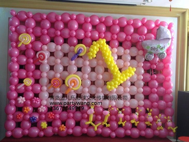 青岛专业的青岛气球布置服务报价-气球汽车店