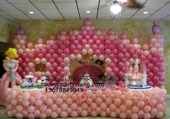 山东靠谱的青岛气球布置推荐|商户气球布置