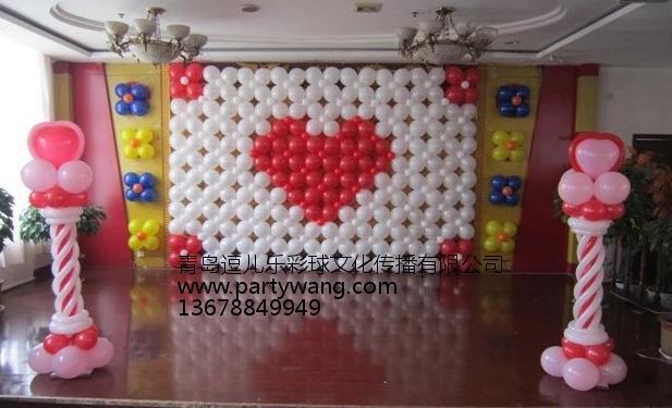 崂山宝宝宴会_专业的青岛氦气气球放飞提供商—青岛逗儿乐彩球