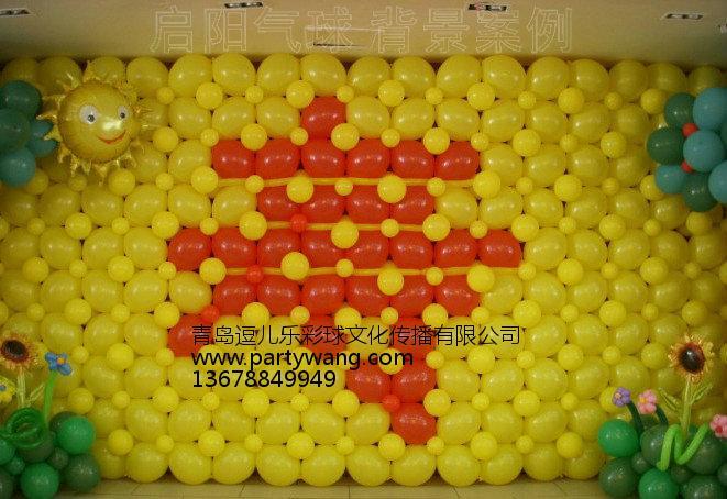 青岛气球装饰优选青岛逗儿乐彩球,即墨宝宝宴气球