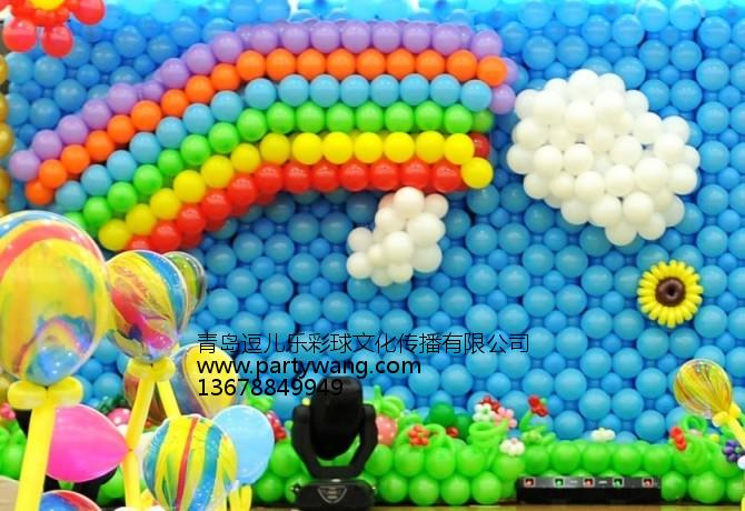青岛生日气球公司推荐|青岛市南铝膜气球