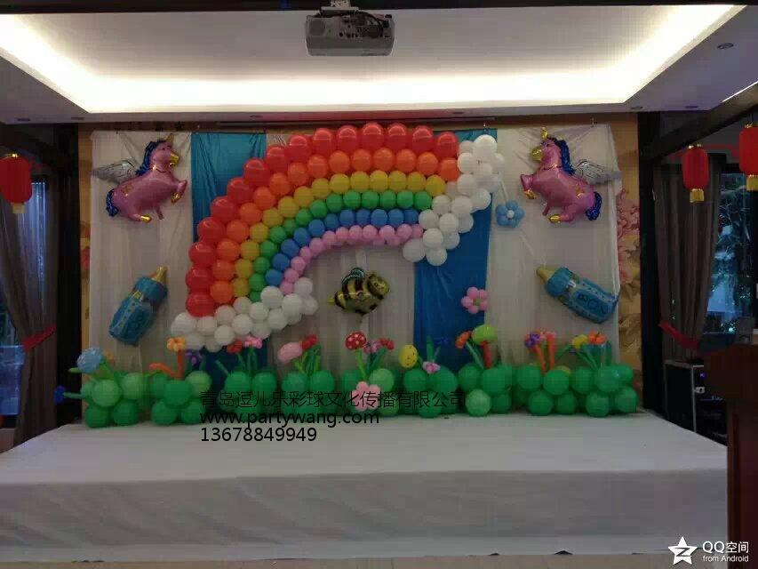 生日派對城陽黃島 山東哪里有供應品質優良的生日氣球派對設計