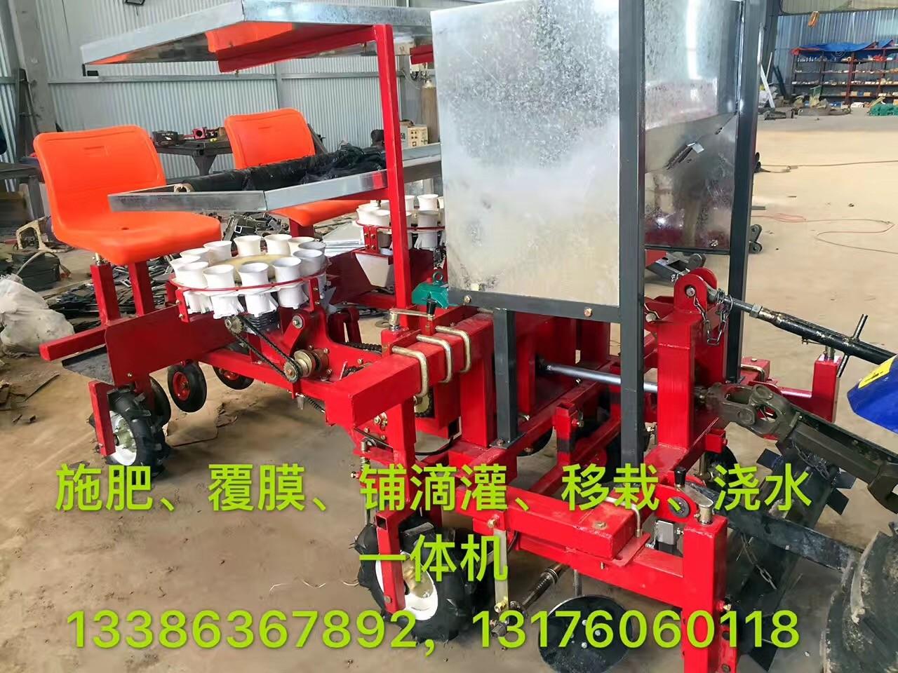 青州牵引式双行西兰花移栽机,想买价位合理的青州牵引式双行西兰花移栽机,就来皓泽农业装备