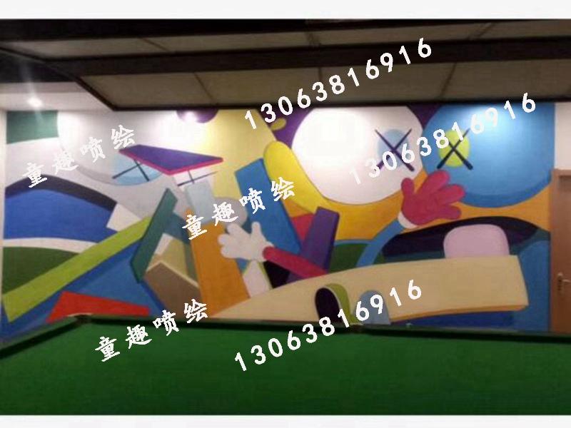 义乌喷画,信誉好的街头涂鸦彩绘上哪找