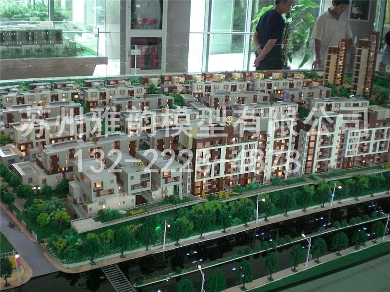 小区模型当选雅韵模型,园区小区模型设计