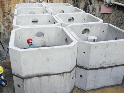 甘肃化粪池|选购质量好的化粪池当选根本没有怜香惜玉万州宏峰水泥