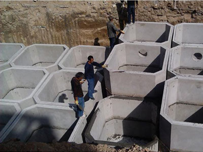 甘肃水泥化粪池|大量供应新品水泥化粪池