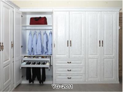 莆田衣柜门批发,新界物超所值的开放式整体衣柜供销