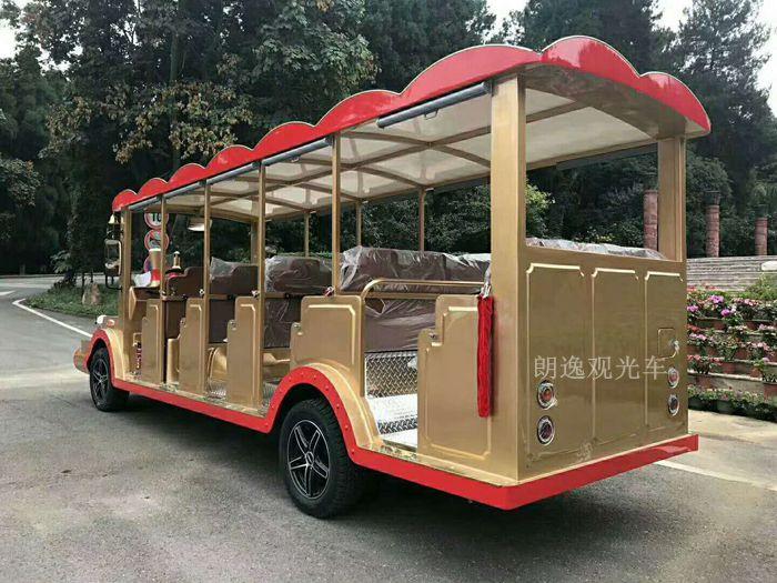 品质可靠的燃油观光车上哪买,14座电动观光车