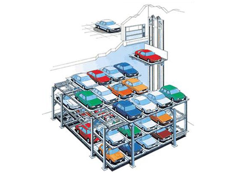 新疆立體停車庫哪家好-哪里能買到物超所值的立體停車庫設備