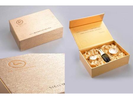天地蓋精品禮盒包裝廠家-戰略包裝供應同行中有品質的藥材精裝禮盒