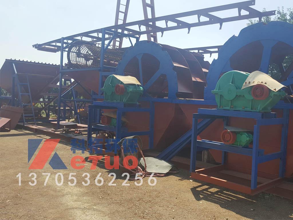 小型洗沙机械-青州市科拓环保设备口碑好的轮式洗沙机出售