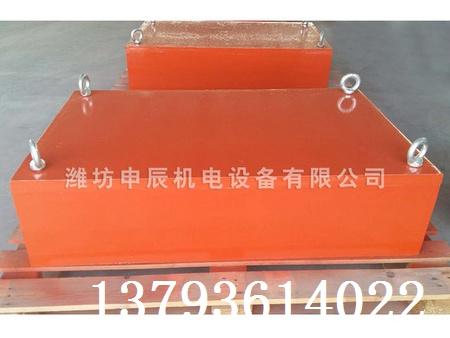 除铁器生产厂家 唐山除铁器|申辰机电高质量的建筑垃圾管道除铁器