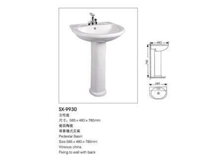 广东洗手盆生产厂家-物超所值的立柱盆优选三晓洁具
