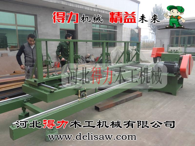 得力木工机械_信誉好的圆木推台锯提供商_大直径圆木推台锯厂家