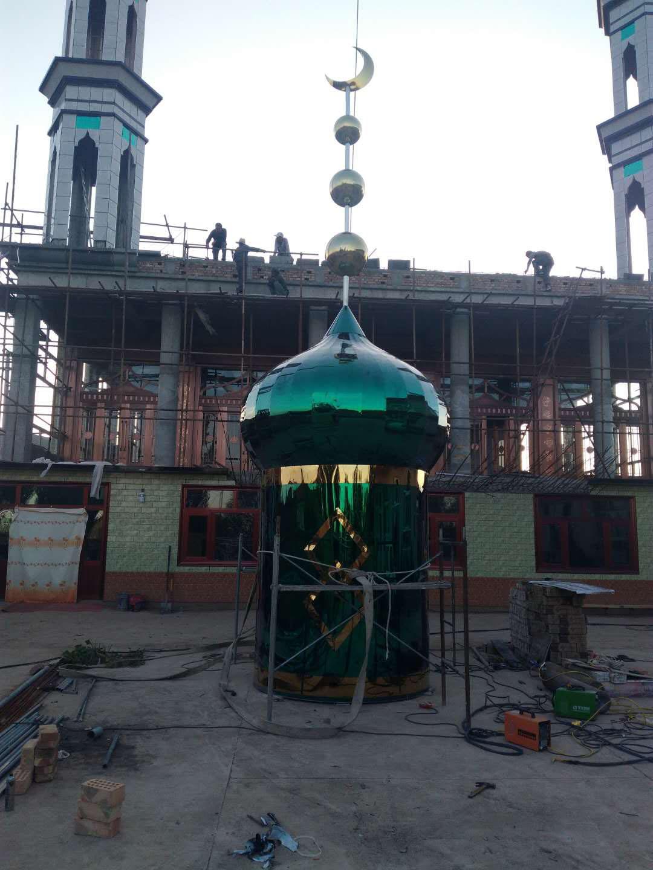 专业的宁夏造型制作公司,银川清真寺设计