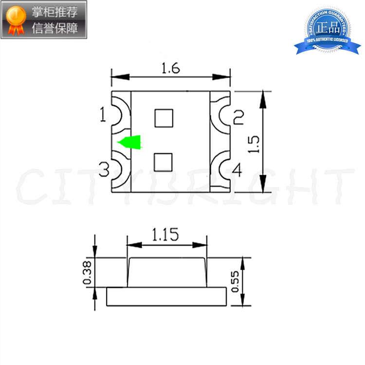 深圳0603红翠绿双色厂家直销 厂家供应发光二极管