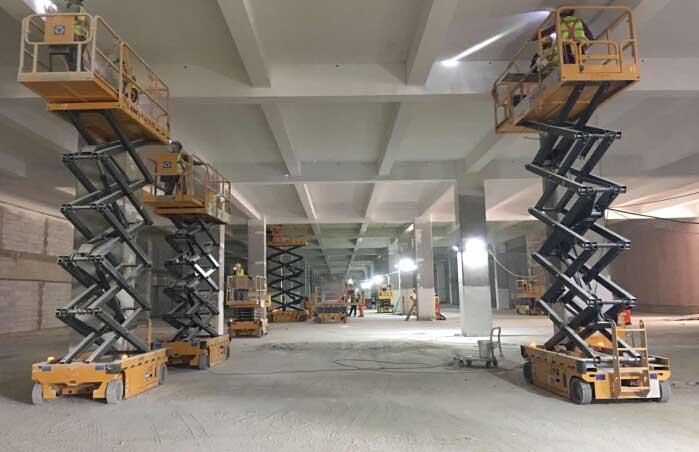 大量供应高质量的高空作业平台|宝鸡曲臂式高空作业车