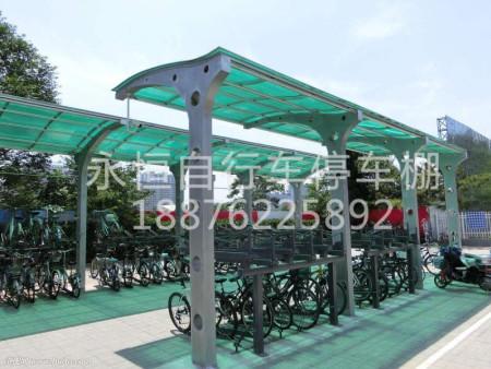 出售泉州自行车停车棚-石狮自行车停车棚价格