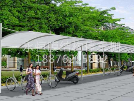 安装快捷的膜结构停车棚推荐 中国膜结构停车棚