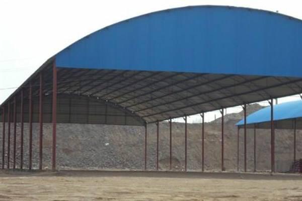 西和县钢结构仓库|甘肃钢结构车库工程价格