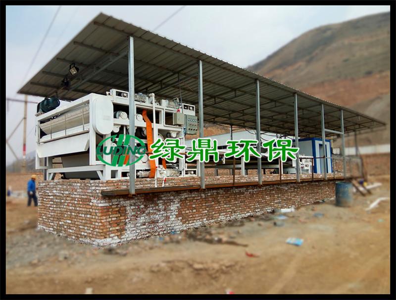 上海带式污泥脱水机-绿鼎环保设备供应质量好的泥浆脱水机