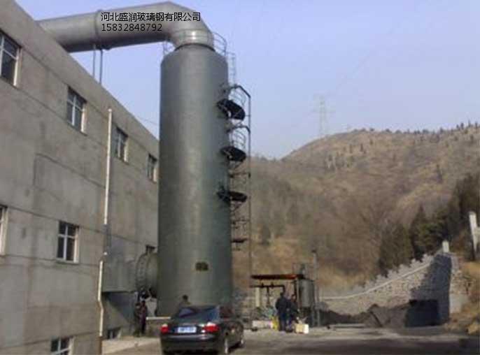 耐火材料竖炉脱硫塔