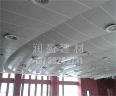 [实惠]武汉报告厅铝单板设计_仿木纹铝单板设计_润盈