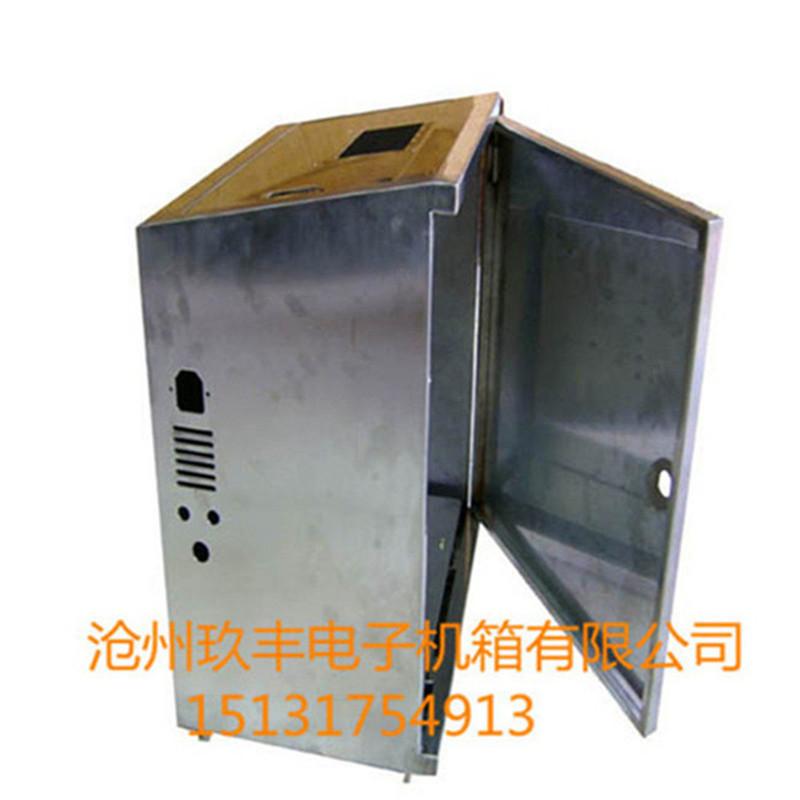 钣金加工当然找沧州玖丰电子机箱不锈钢外壳报价图片