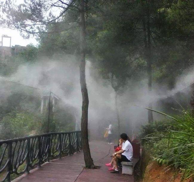 广东喷雾景观系统,景区公园人造雾,景观人造雾设备