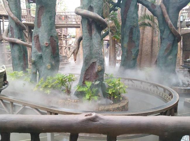 广州人造雾设备,仿真造雾机定制厂家,餐厅公园人造雾设备