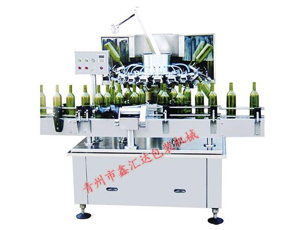 鑫汇达包装专业的多功能脱标刷瓶机出售 六头水槽式刷瓶机