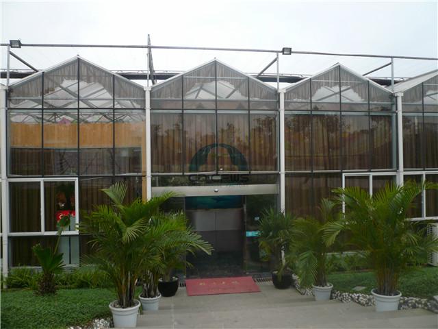 报价合理的连栋温室大棚哪里有 甘肃薄膜拱形连栋温室