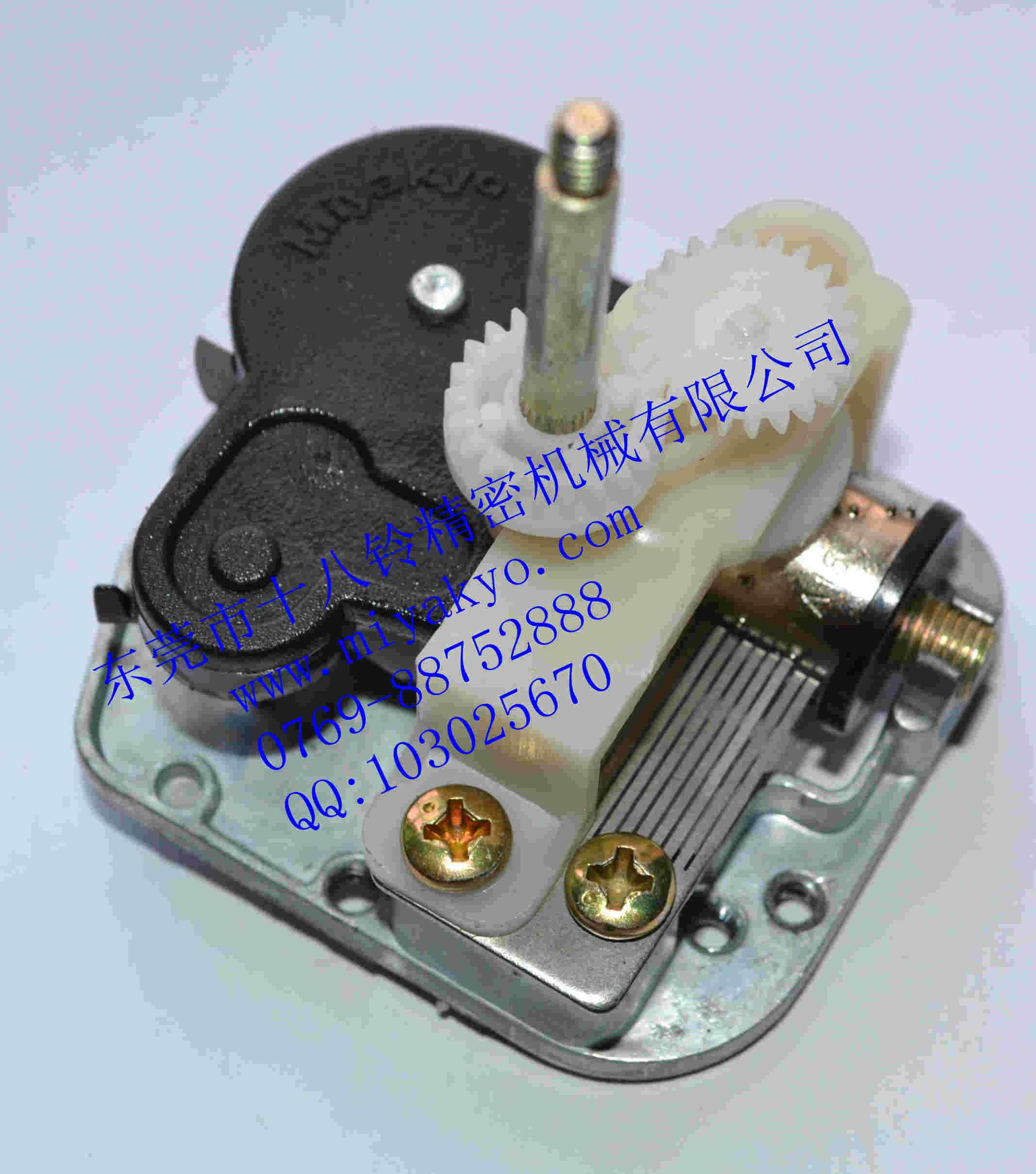 东莞专业的八音琴专业制造商是哪家-音乐铃机芯价位