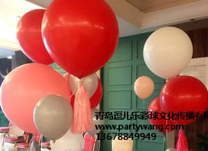 青岛生日气球专业报价-青岛爆破气球