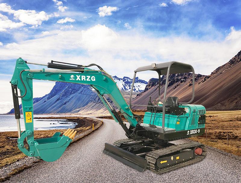 小型挖土机信锐重工XR30-9先到操作家用小型挖掘机