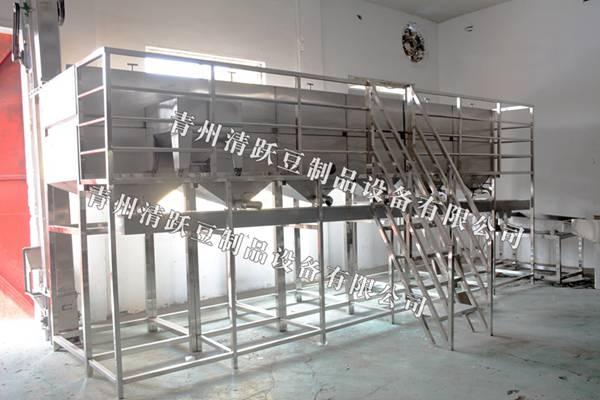 榆林渭南 豆腐成型机 豆腐豆皮生产线  豆制品生产线 清跃