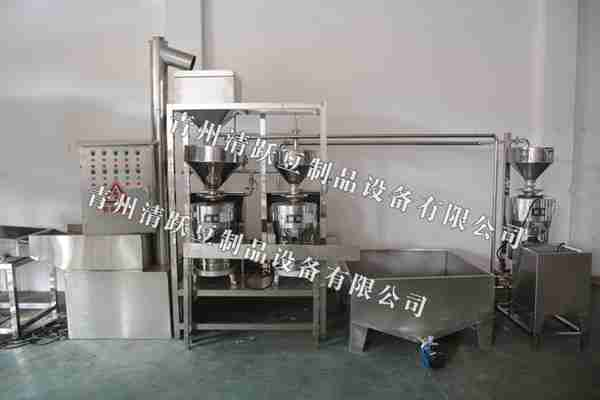 渭南 豆腐成型机 豆腐豆皮生产线 豆制品生产线 清跃