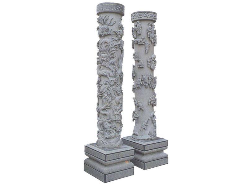 石雕龙柱厂|荣腾石业专业供应龙柱